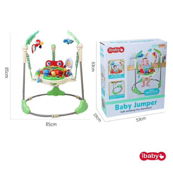 BORONG! Multi-functional Electric Baby Jumping Walker iBaby Rainforest  Jumperoo Baby Jumper | Shopee Malaysia
