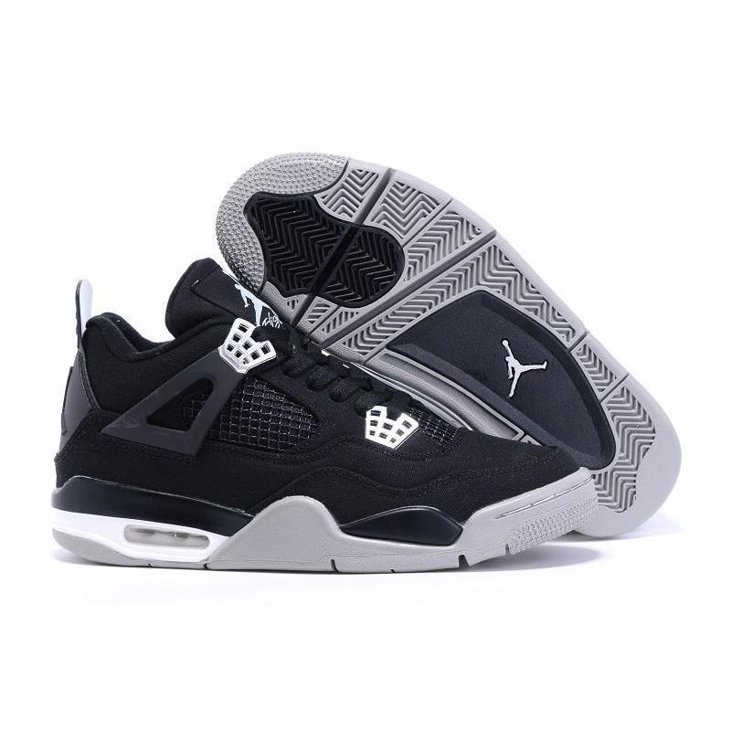 e7381251455 Eminem x Carhartt x Air Jordan 4 Canvas In Black Gray White   Shopee  Malaysia