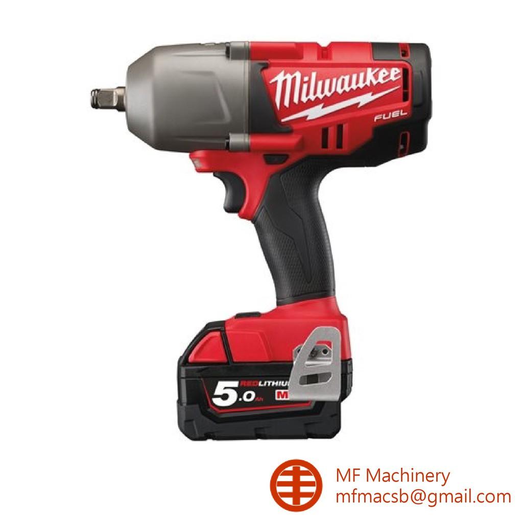 Milwaukee M18 Fuel Chiwf12 1 2 High Torque Impact Wrench Shopee Malaysia