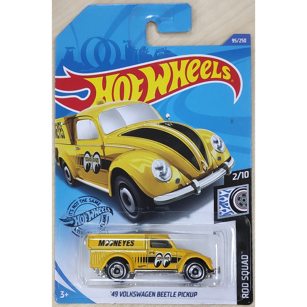 Hot Wheels '49 Volkswagen Beetle Pickup Moon Eyes From Dollar General