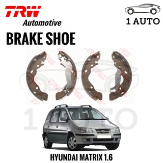 TRW REAR BRAKE SHOE for HYUNDAI MATRIX 1 6 | Shopee Malaysia