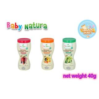 Baby Natura Organic Riceberry Puffs 40g