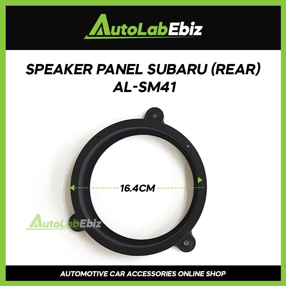 Car Door Speaker Panel Cover Trim Car (2pcs) For Subaru (Rear)