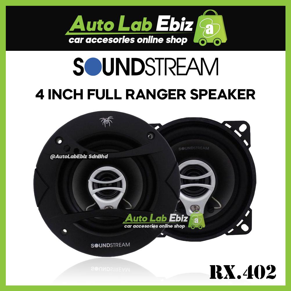 "SoundStream Audio Reflex Series 4"" Full Range Speaker (RX.402)"