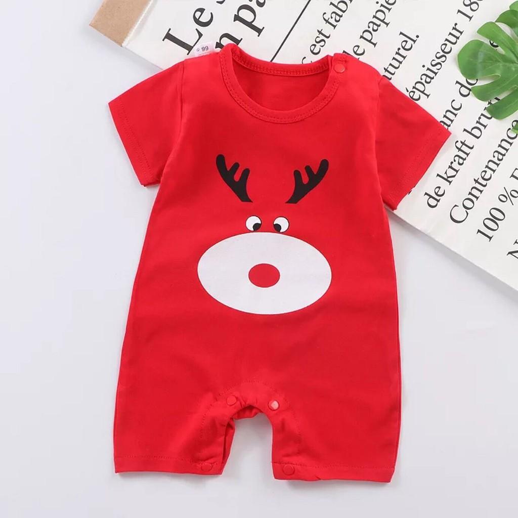 preliked Cute Kids Baby Boy Girl Cartoon Animal Print Long Sleeve O-Neck Romper Jumpsuit Grey 90cm