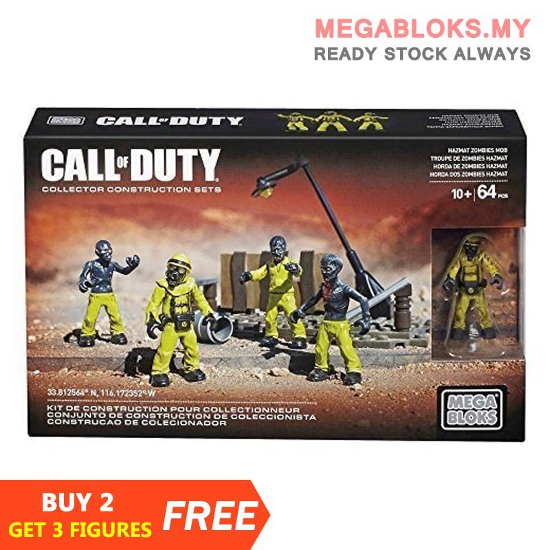 Figure # 4 *MEGA BLOKS CALL OF DUTY* Hazmat Zombies Mob Set