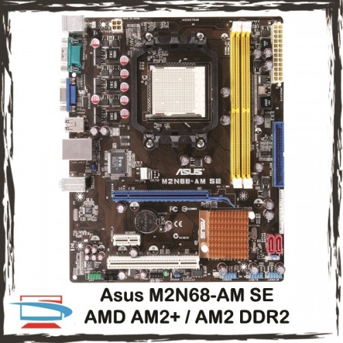 Asus M2N68-AM SE2 AMD AM2 / AM2+ DDR2 Motherboard