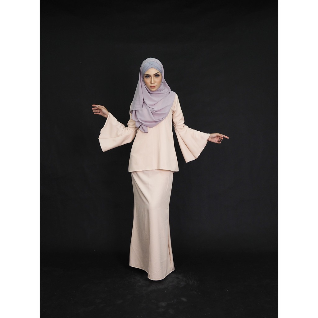 Eco Lace Baju Kurung Shopee Malaysia Longdress Payung Not Set
