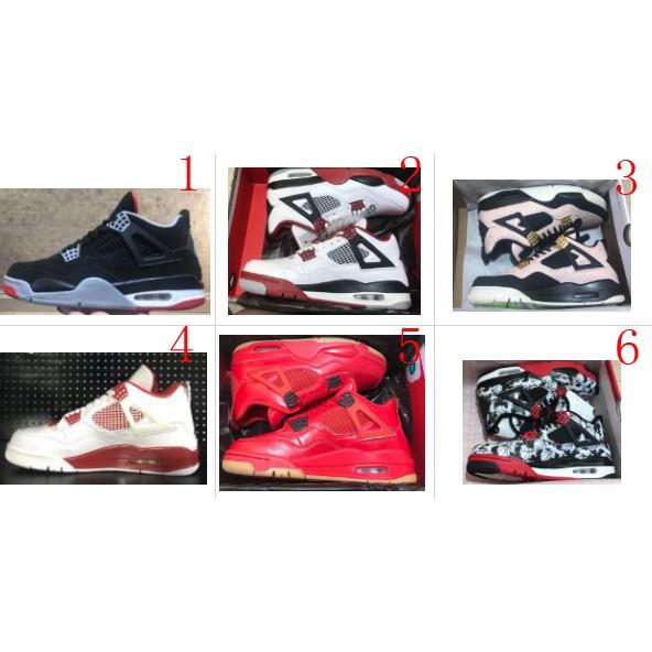 the best attitude 8f8c4 7937d Nike Air Jordan 4 Retro AJ4 Men's Basketball Shoes Outdoor Sport Shoes