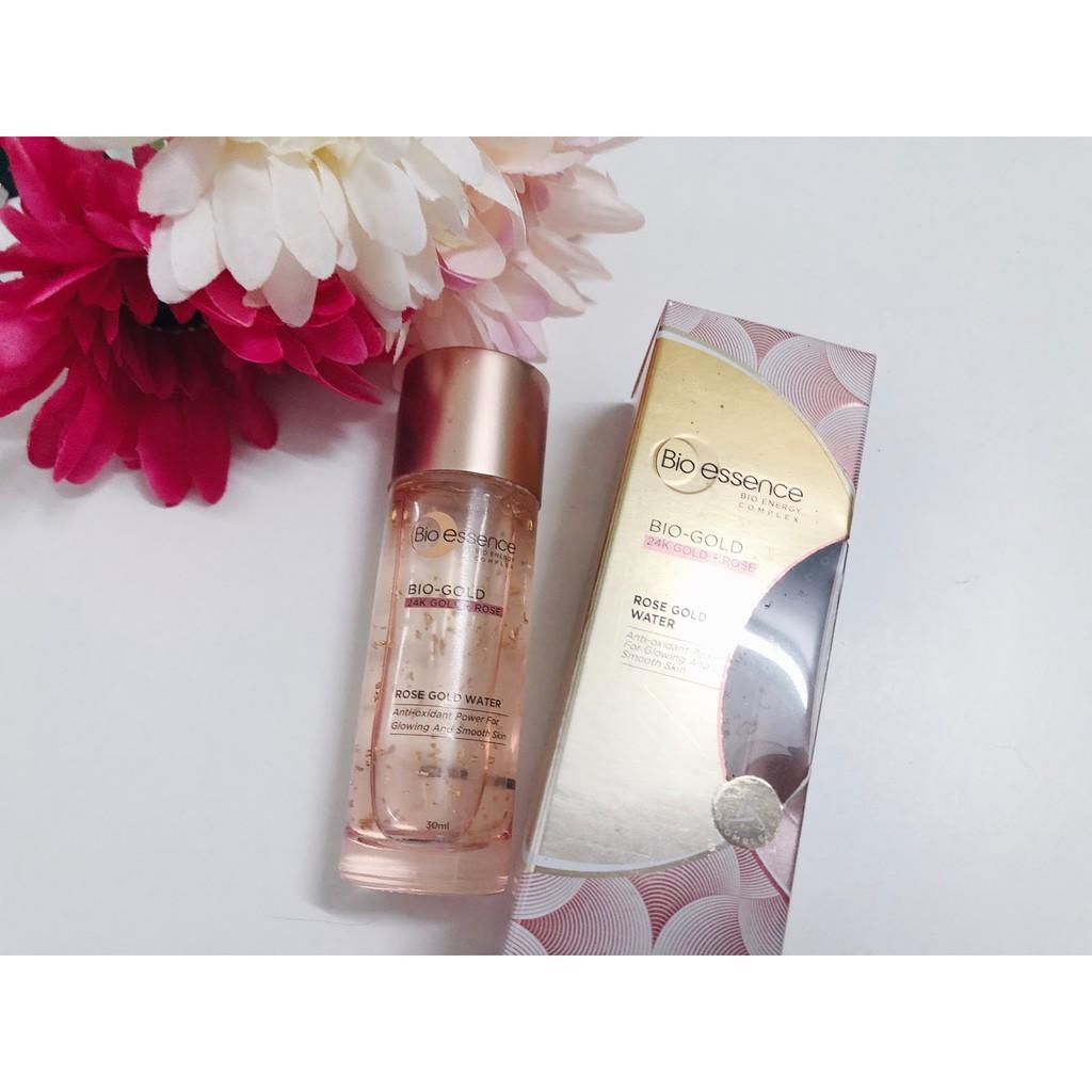 Harga Jual Bio Essence Miracle Water 300ml Free Treatment In Oil 60ml 30ml 24k Gold Rose Shopee Malaysia