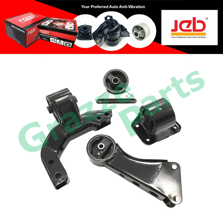JEB Engine Mounting Set FG/MRK-V/09 for Proton Saga Iswara Auto Transmission