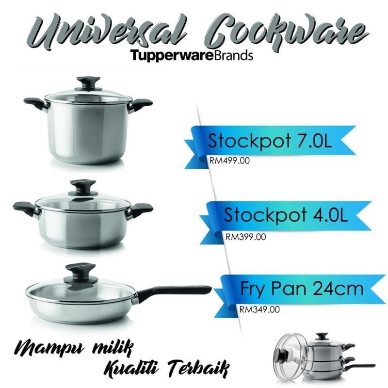Tupperware universal cookware