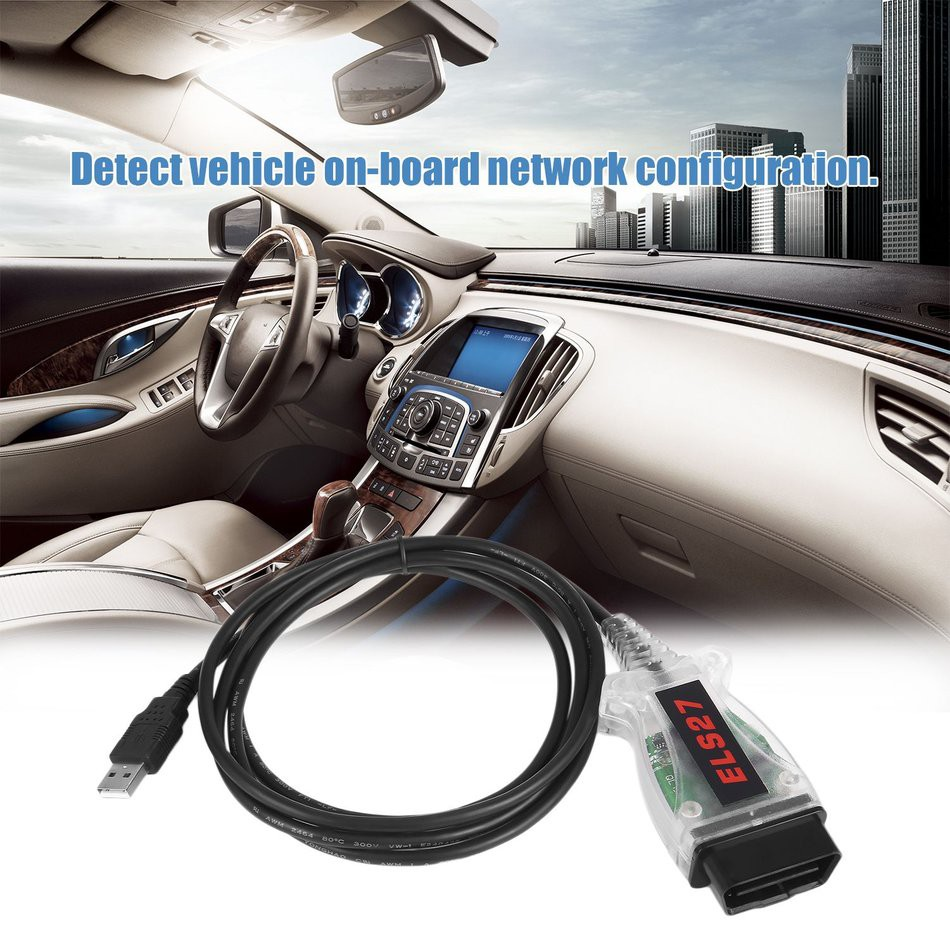 ELS27 FORScan Microchip For Ford For Mazda For Lincoln For Mercury Car