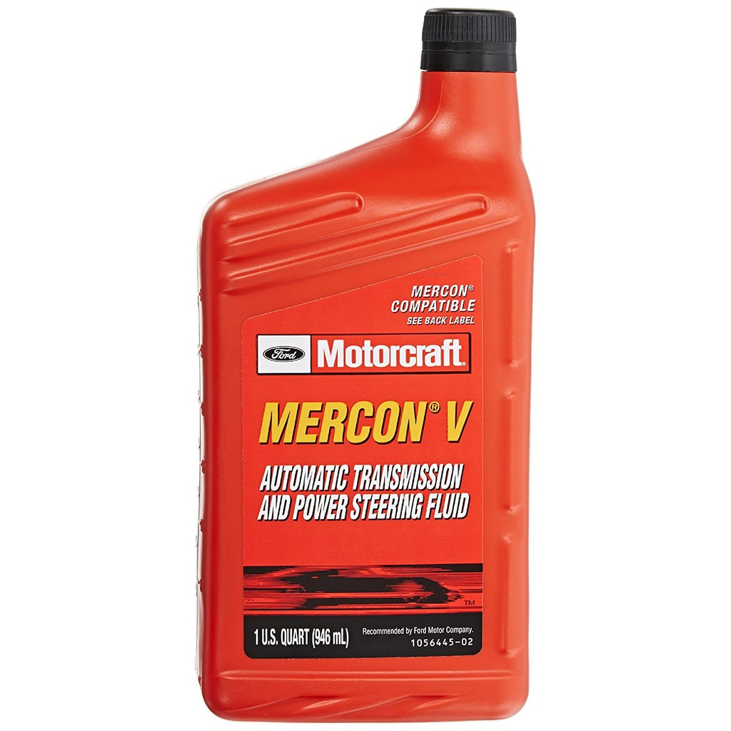Motorcraft Ford XT-5-QM MERCON-V AutoTransmission and Power Steering Fluid  - 1QT