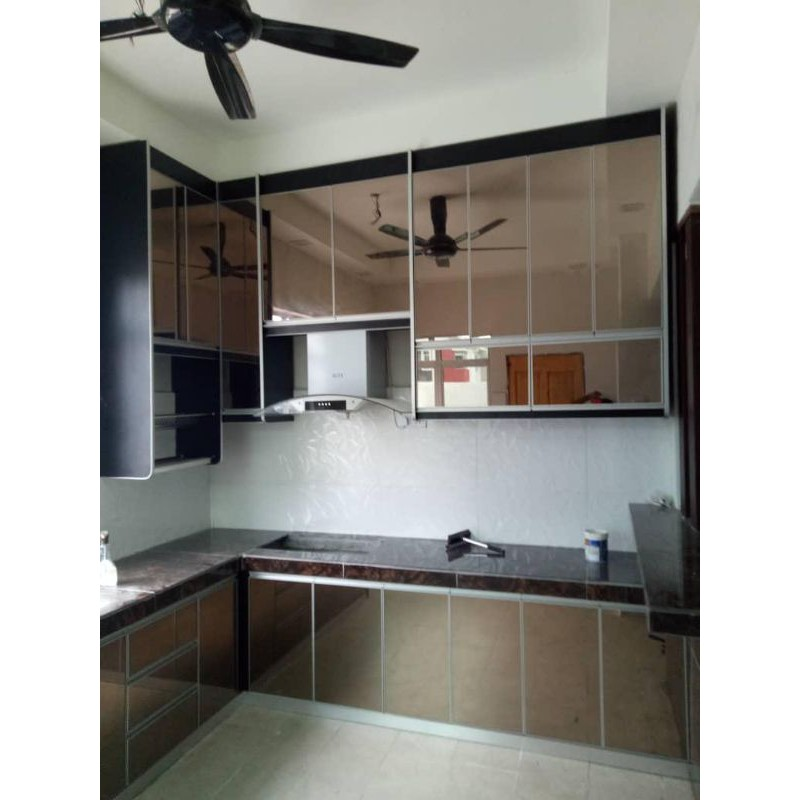 Kitchen Cabinet With Melamine And 4g Material Shopee Malaysia