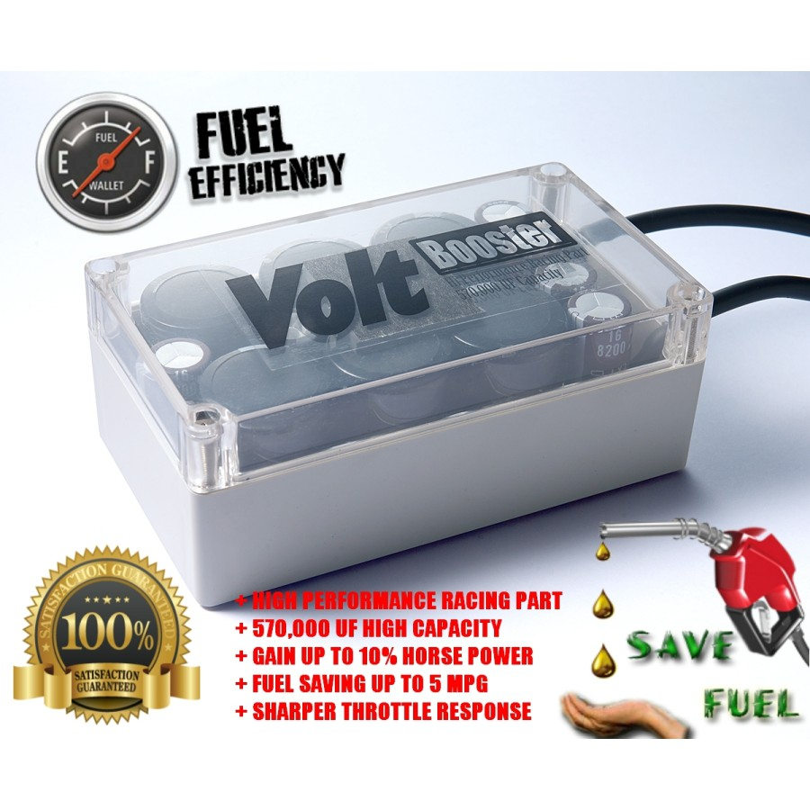Volt Booster-Fuel Saver 100% Satifaction with 7days MONEY BACK GUARANTEE