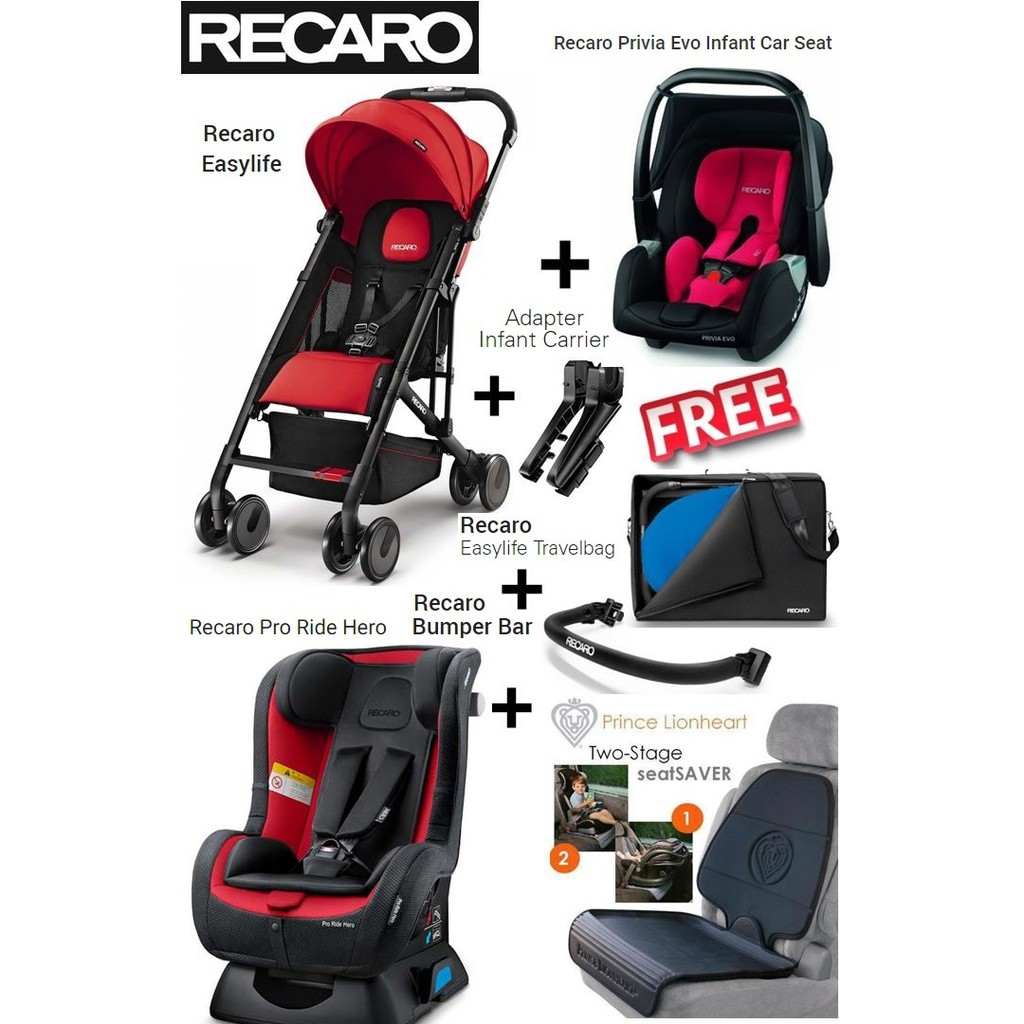 Recaro Travel System Pro Ride Hero Car Seat