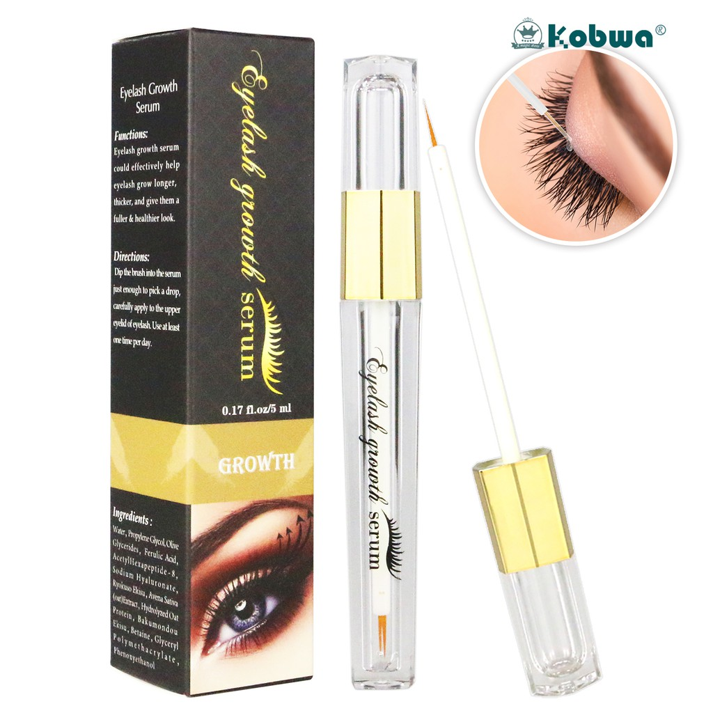 d930c0c9c5a Powerful Makeup Eyelash Growth Serum Liquid Treatment Longer Thicker 5ml |  Shopee Malaysia