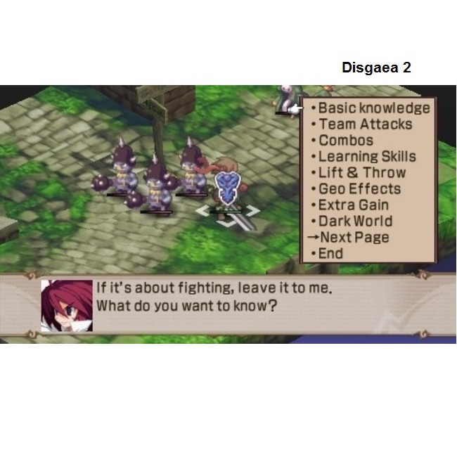 PS2 Game Disgaea 1 2, Hour of Darkness , Cursed Memories, English version, Turn Based Game