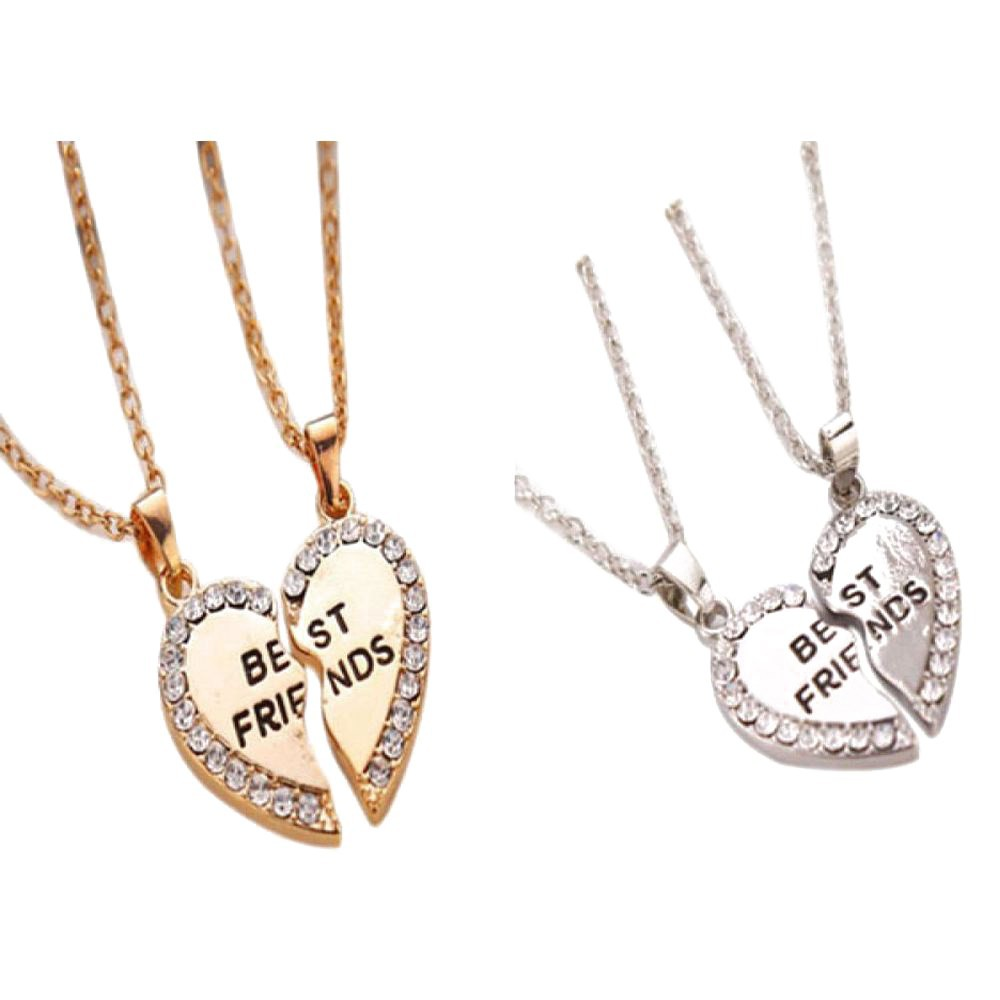 7788885490 BMMY 2PCS/Set Titanium Steel Animal Cat Pendants Necklace Couples Jewelry |  Shopee Malaysia