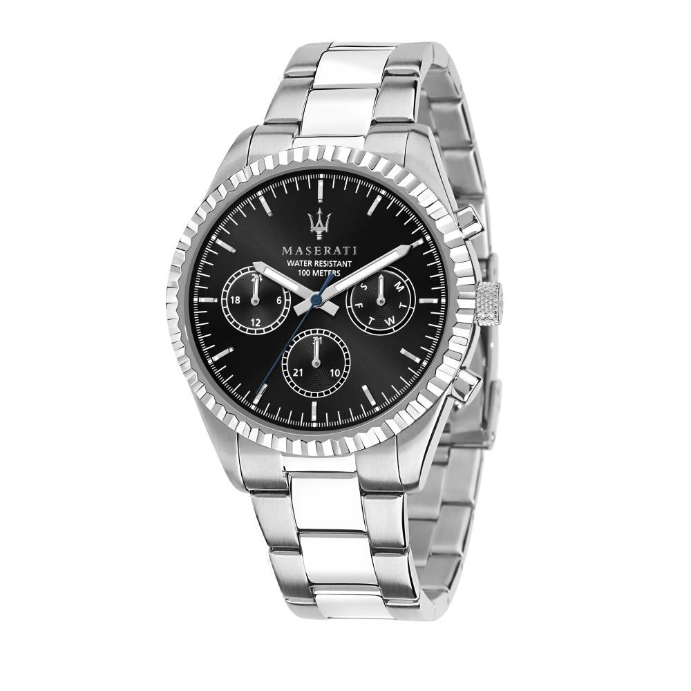 Maserati Competizione Steel Band Quartz Multi function Watches R8853100023