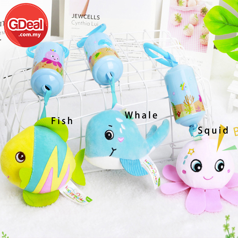 GDeal Cute Animal Baby Educational Bed Bell Infant Development Hanging Soft Plush Toy