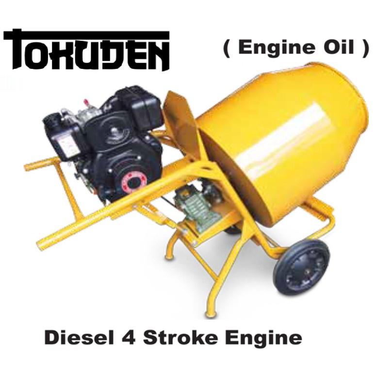 TOKUDEN CONCRETE MIXER TKCM-3T w KM170 Diesel 4 Stroke Engine Machine Cement Sim