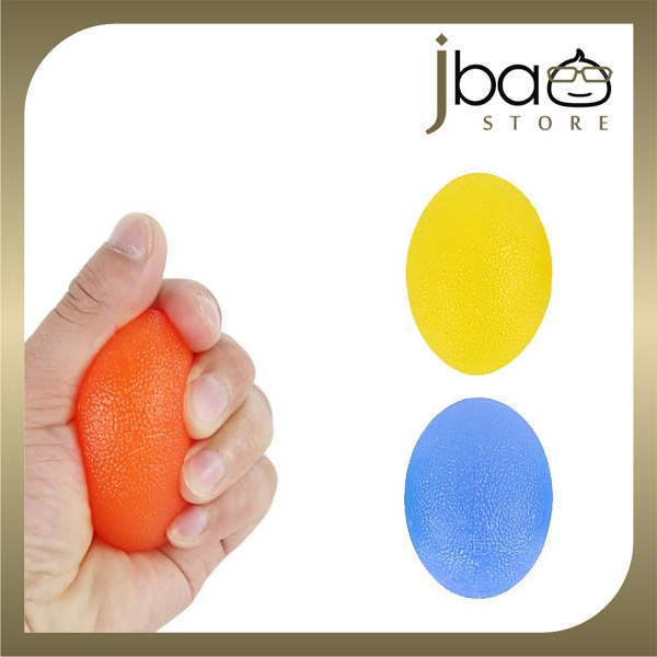 3 in 1 Ellipse Silicone Therapy Grip Squeeze Ball Wrist Fingers Training
