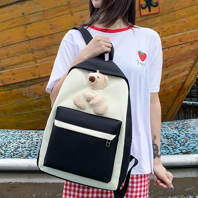 Backpack Cutey Bear Bag Perempuan Beg 4 Sets 女孩背包4件套 BP0007