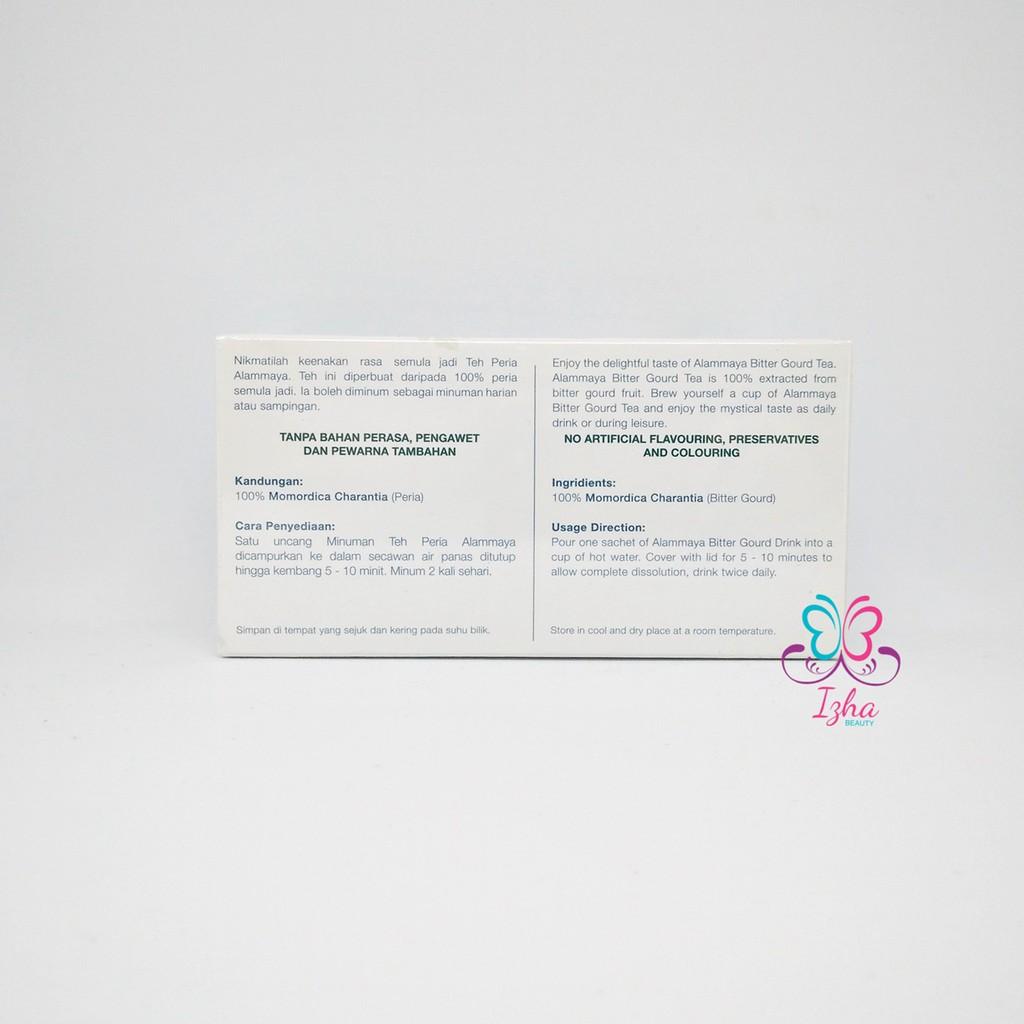 [ALAM MAYA] Teh Peria Alammaya (Pek Baru) - 2g x 30 sachet