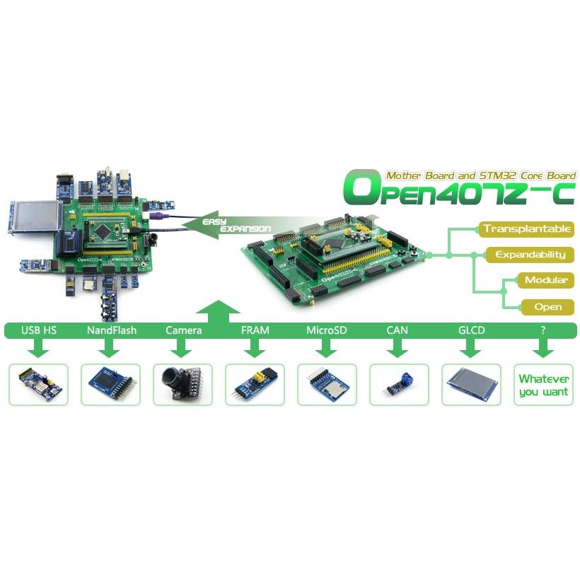 Free Shipping STM32 Board STM32F407ZxT6 ARM Cortex-M4