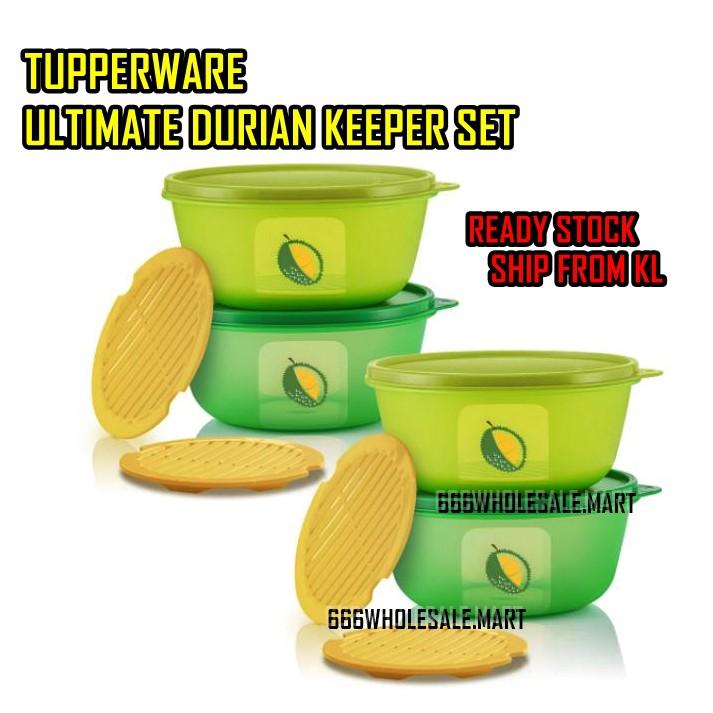 Tupperware Ultimate Durian Keeper Set 1.5L