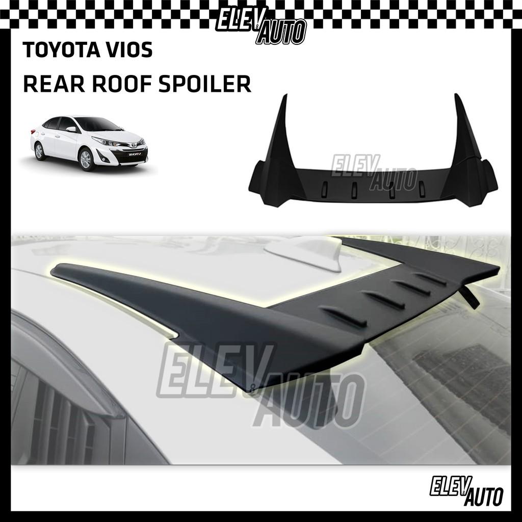 Toyota Vios 2019-2021 Matte Black Roof Spoiler