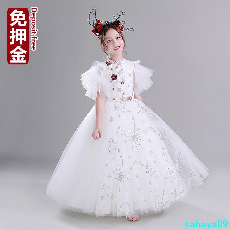 Girl Dress Rental Girl Flower Girl Wedding Dress Rental Girl Tahaya09 Shopee Malaysia