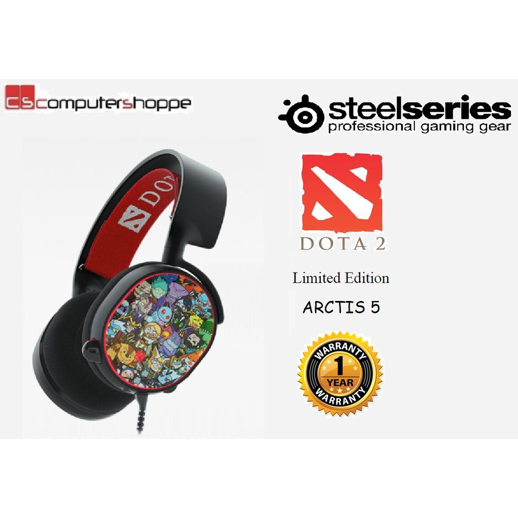 Steelseries Arctis Pro Rgb Peerless High Resolution Pc Gaming 5 With 71 Dts Headphonex Black Headset 61486 Shopee Malaysia