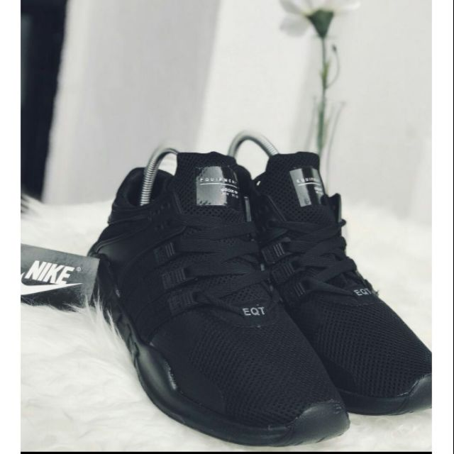 hot sales 85274 6f77f Adidas Eqt Adv All Black