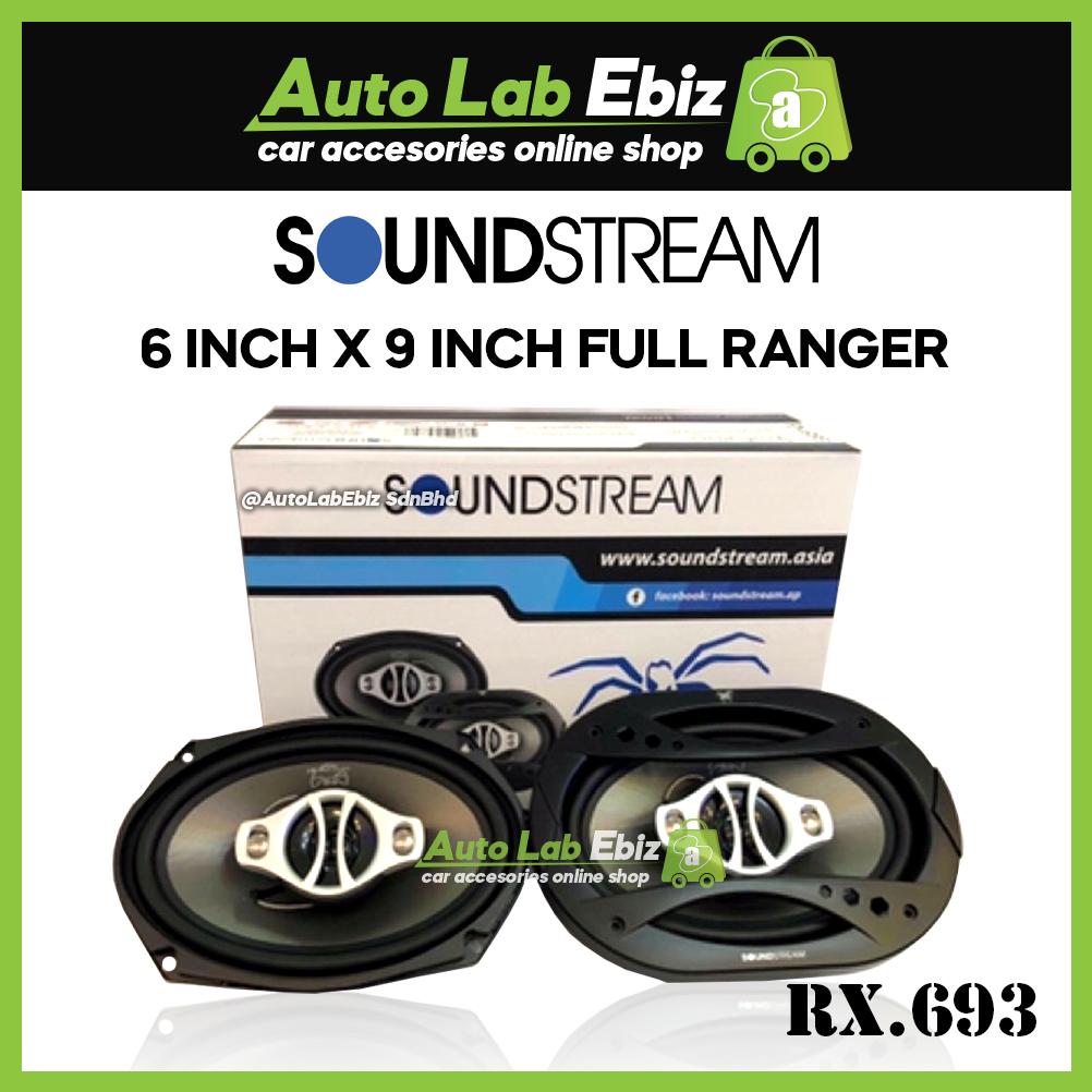 "SoundStream Audio Reflex Series 6"" x 9"" Full Range Speaker (RX.693)"