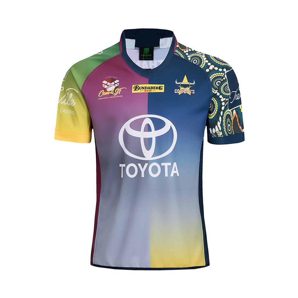 37d7829dd BRISBANE BRONCOS 2018 19 ANNIVERSARY Rugby Shirt Size S-3XL
