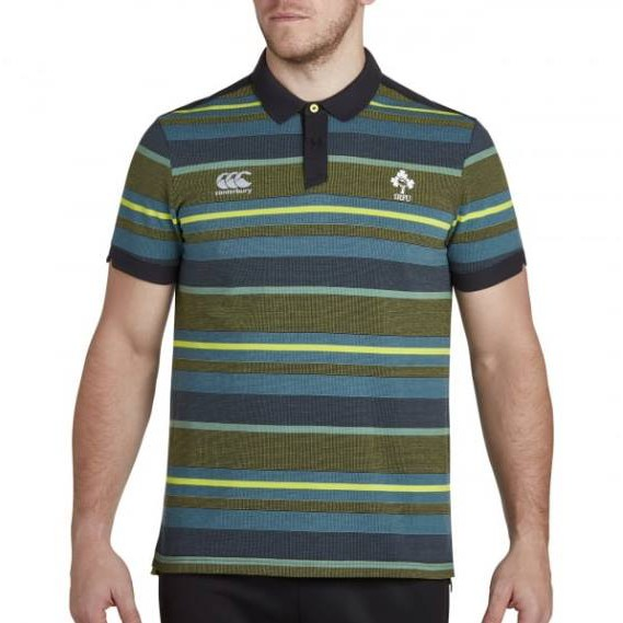 fc1f9e3f8be (S,XXL) 💯100% Authentic Canterbury 2018 Mens Ireland Cotton Jersey Stripe  Polo | Shopee Malaysia