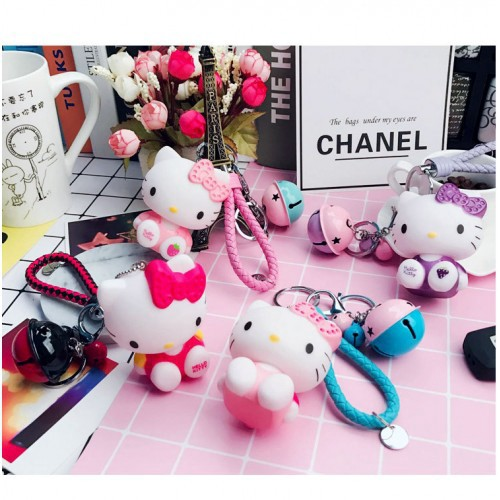 f85bab0c2 ProductImage. ProductImage. Ready Stock Cute Hello Kitty Cell Phone Car  Keychain ...