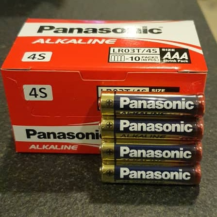 Panasonic Alkaline AAA Battery LR03T/4B (40pcs/pack)