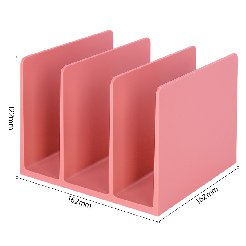 Jadi NuSign Rose Pink Bookstand Desk Organizer File Tray Pen Holder Red Office Set NS006/NS001/NS021/NS011