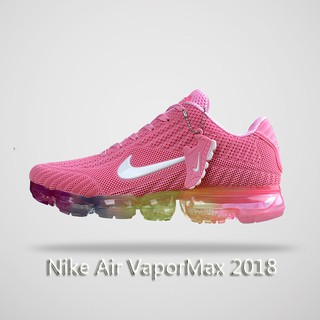 premium selection 4d89a 39567 【cnwholesale】Nike Air VaporMax 2018 Men's Sneakers Pink Rainbow Latest  Recommended