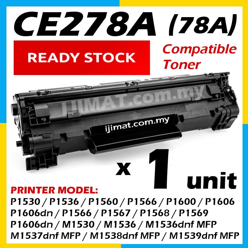 CE278A 78A CE 278 Compatible HP Toner P1566 P1600 P1060 P1606DN P1566 1600  M1536