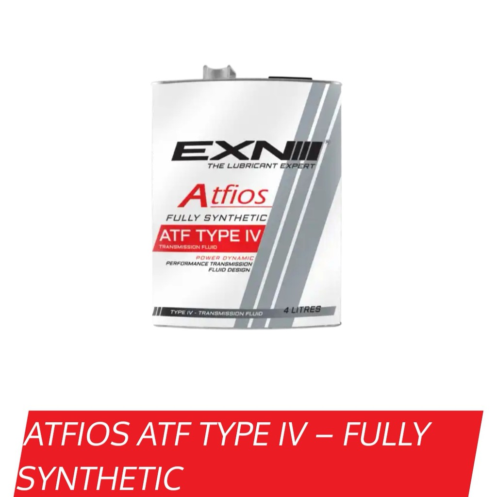 EXN ATF OIL ATFIOS TYPE IV FULLY SYNTHETIC 4L