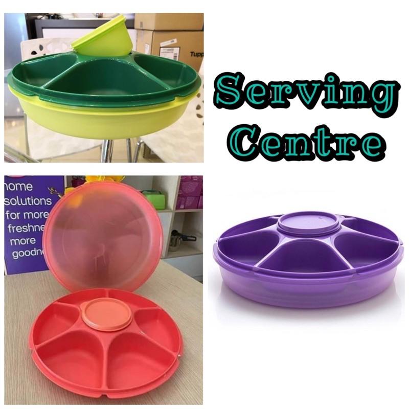 Tupperware Serving Centre/ Bekas Hidang Ulam/ Set Hidang Bahan Laksa/ Bekas Hidang Bahan Mee