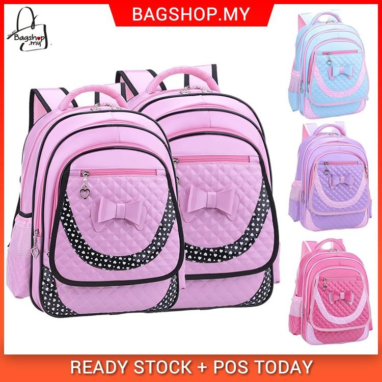 1c65c64f19 Kids Girl Primary School Buy 1 Get 3 Cute Cushion Padded Backpack mc435 YF2