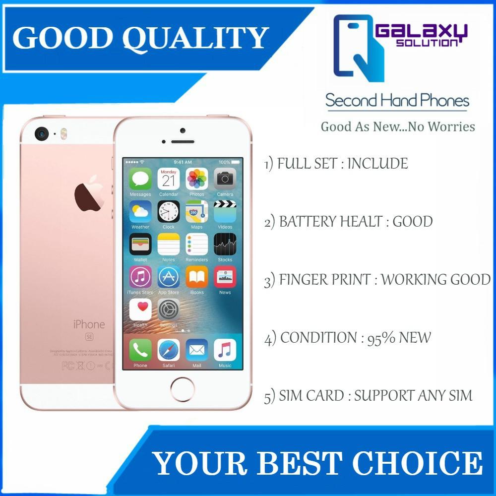 iPhone SE 64gb / 32gb / 16gb - Original Conditions Second ...