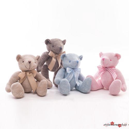 Teddy Bear Hot Cute Scarf Stuffed Animal Doll Plush Soft Toy Xmas Gift 12/'/' 30cm