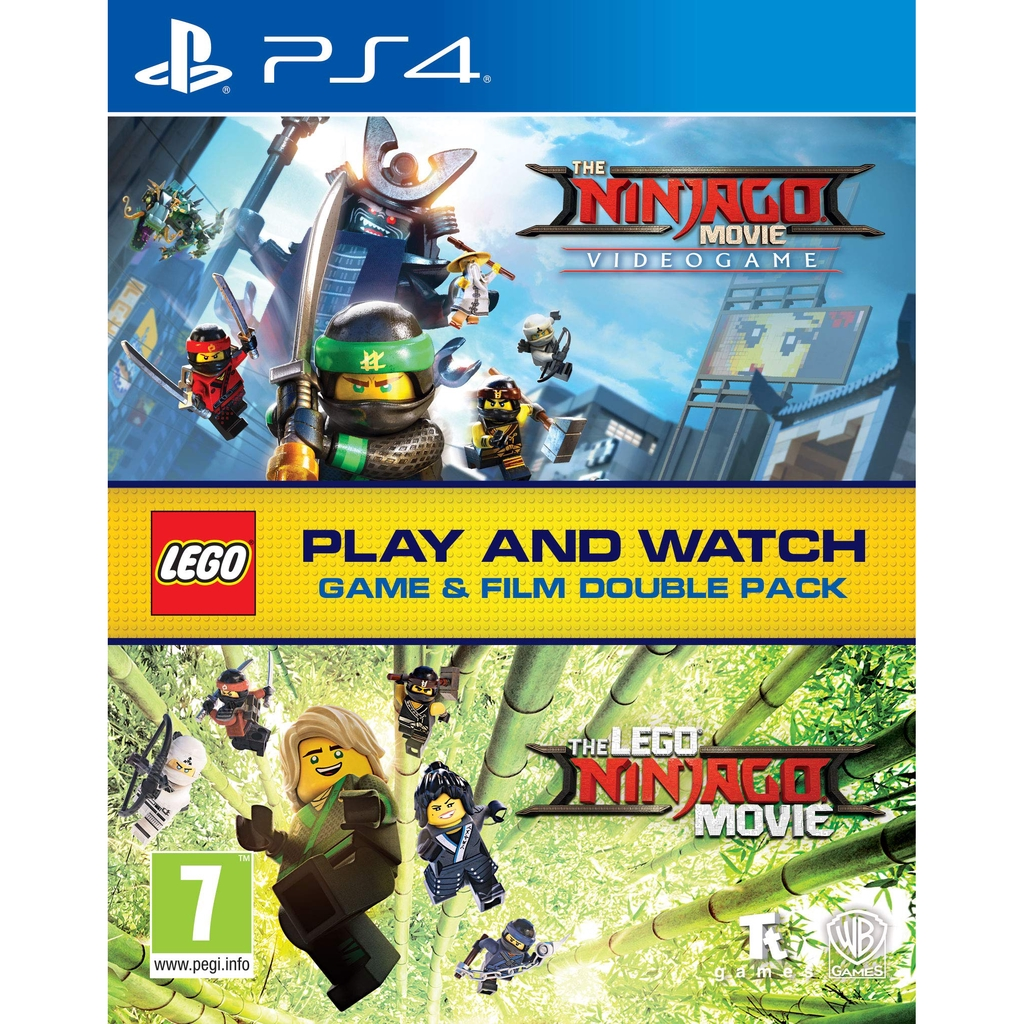 Ps4 The Lego Ninjago Movie Video Game Film Double Pack R2 R3 English Chinese New Shopee Malaysia